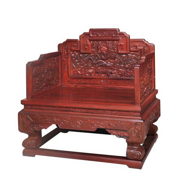 欧式宫廷红色公主椅子