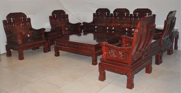 红木沙发(富森缘)--大涌红木家具网