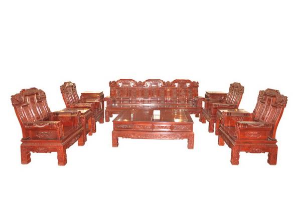 红木沙发(隆泰轩)--大涌红木家具网