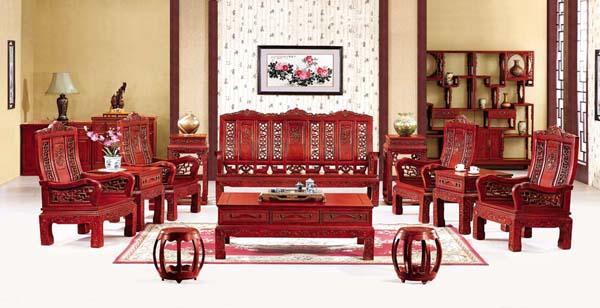 豪华万字(文轩家具)--大涌红木家具网