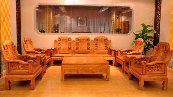 大如意沙发(雅仕轩)--大涌红木家具网