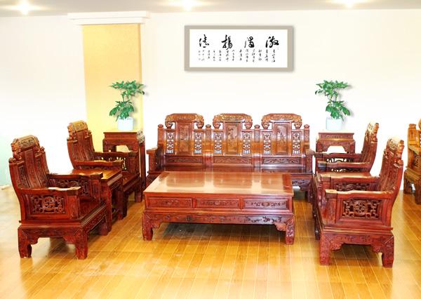 中号福禄寿(颐和轩)--大涌红木家具网