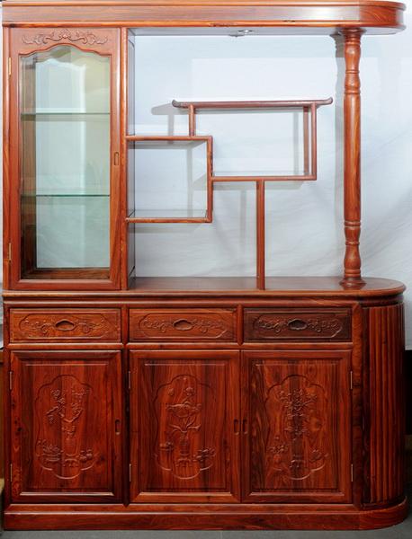 酒柜(汇华)--大涌红木家具网