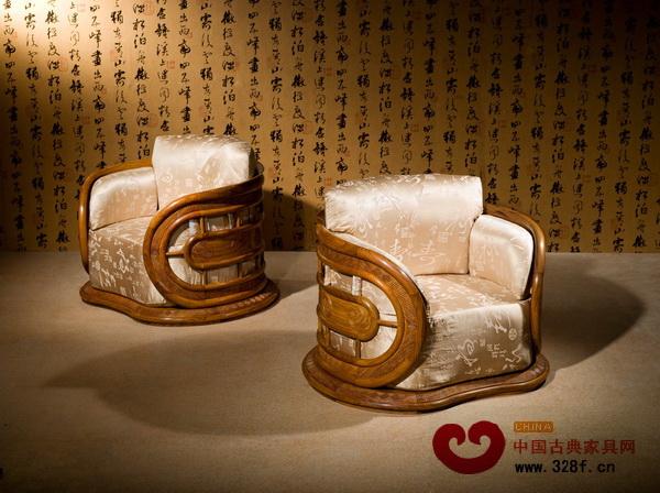 红古轩新中式代表作——风云沙发