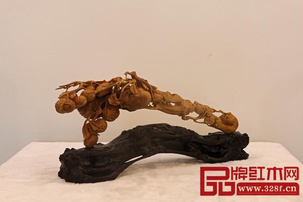 陈正民木雕作品